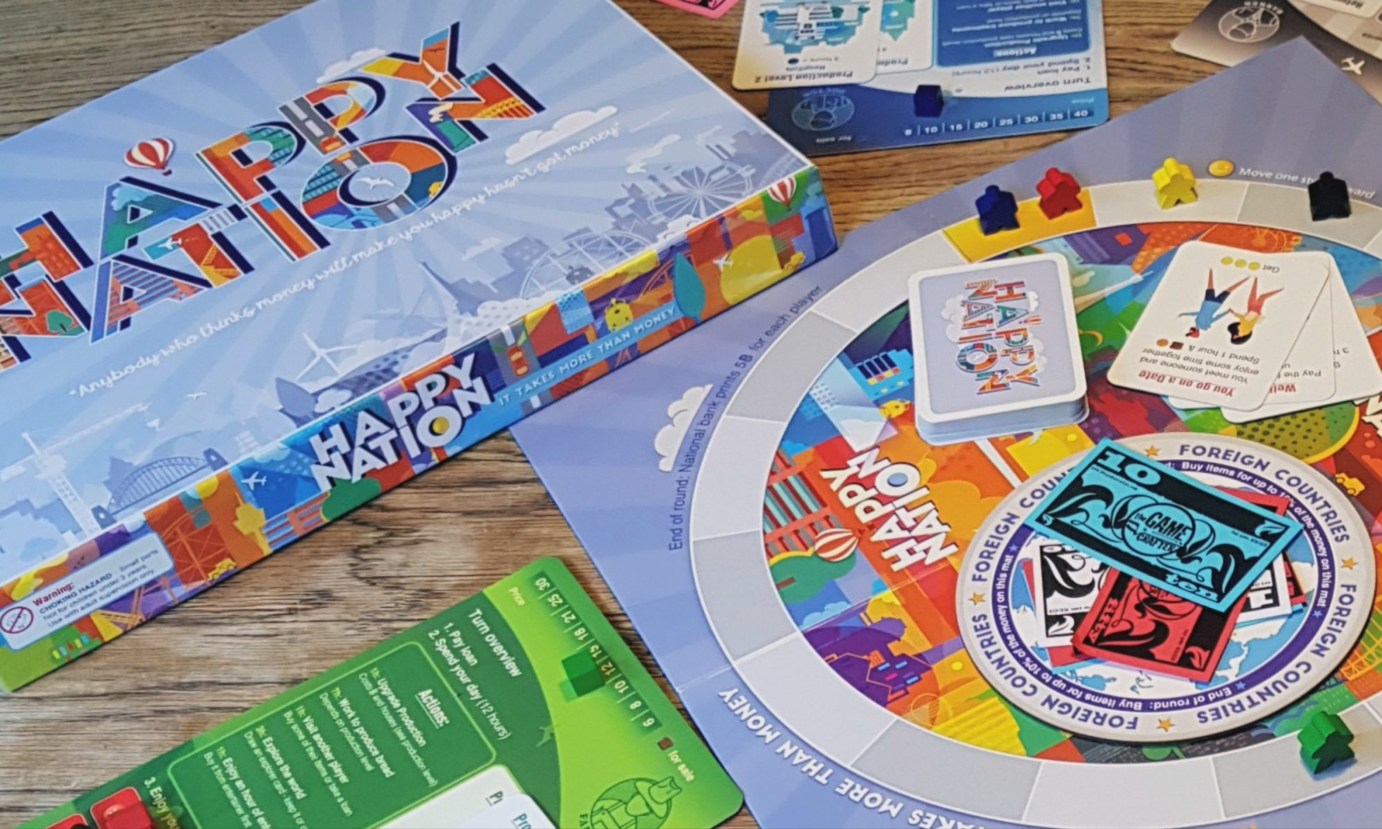 Happy Nation - The Board Game